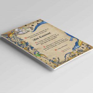 Invitaciones de boda medievales