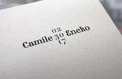 sello de boda calendario